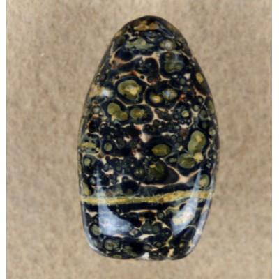 Leopard Skin Jasper gemstone cabochon