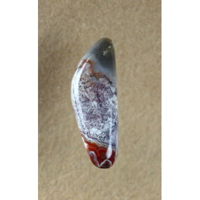Crazy Lace Agate Freeeform Cabochon