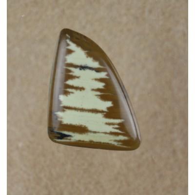 Owyhee Jasper Freeform triangular gemstone cabochon