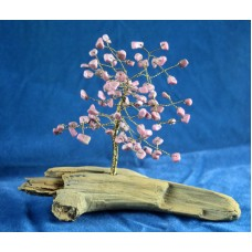 Rhodonite Tree