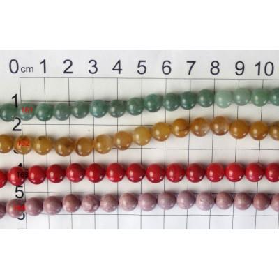 8mm Round Beads Strands 161 - 164