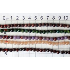 6mm Round Beads Strands 175 - 179