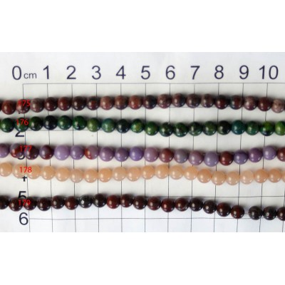 6mm Round Beads Strands 175 - 179