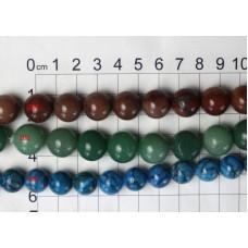 12-15mm Round Beads Strands 204 - 206