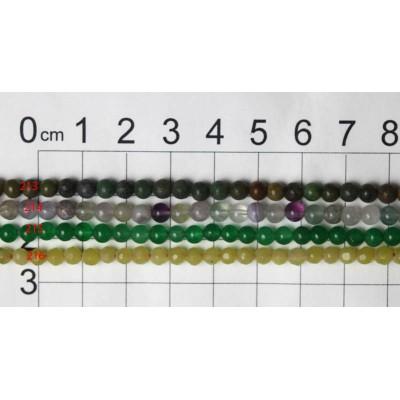 4mm Round Beads Strands 213 - 216