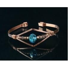 Bangle Bracelet in Copper