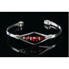 Bangle Bracelet in Sterling Silver