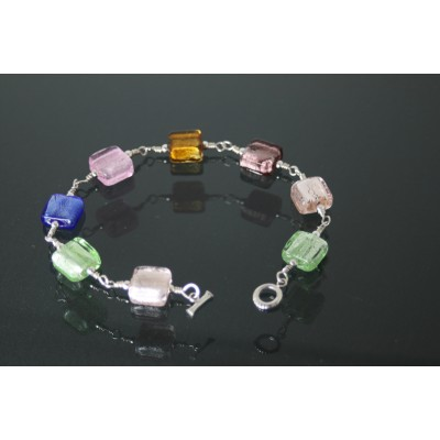 Square Chicklets Bracelet