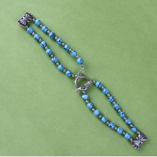 Sterling Silver Turquoise Watch Band