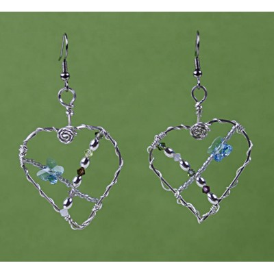 Sterling Silver Butterfly Love Habitat Women Build