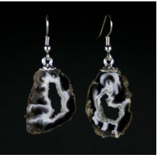 Geode Slice Earrings