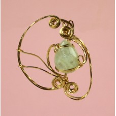 Aquamarine Gold Filled Necklace
