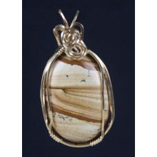 Picture Jasper Pendant / necklace