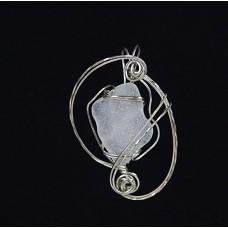 Sterling Silver Beach Glass Pendant